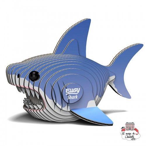Eugy - Shark - EUG-5313912 - Eugy - Maquettes en carton - Le Nuage de Charlotte