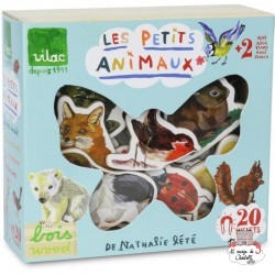 Animals Magnets by Nathalie Lété - VIL-8644 - Vilac - Education and Magnets - Le Nuage de Charlotte