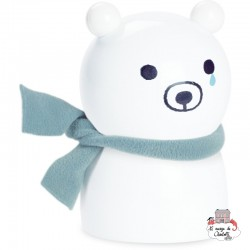 Sora Bear Money Box by Shinzi Katoh - VIL-7801 - Vilac - Money Box - Le Nuage de Charlotte