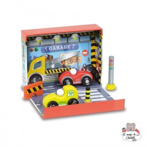 Garage Box - VIL-2366 - Vilac - Figures and accessories - Le Nuage de Charlotte