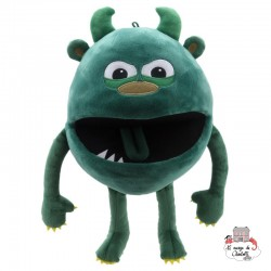 Baby Monsters - Green - TPC-004403 - The Puppet Company - Hand Puppets - Le Nuage de Charlotte