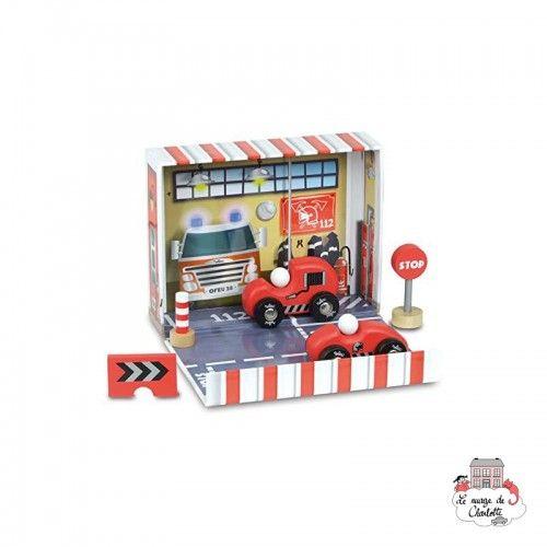 Firefighter Box - VIL-2364 - Vilac - Figures and accessories - Le Nuage de Charlotte