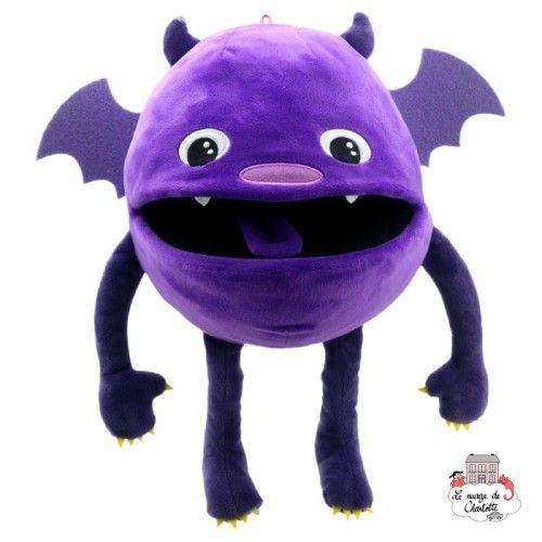 Baby Monsters - Violet - TPC-004406 - The Puppet Company - Marionettes à main - Le Nuage de Charlotte
