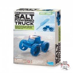 Eco-Engineering - Salt Powered Truck - 4M-5603409 - 4M - Discovery boxes - Le Nuage de Charlotte