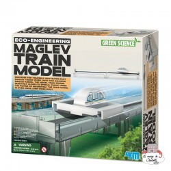 Eco-Engineering - Maglev Train Model - 4M-5603379 - 4M - Discovery boxes - Le Nuage de Charlotte