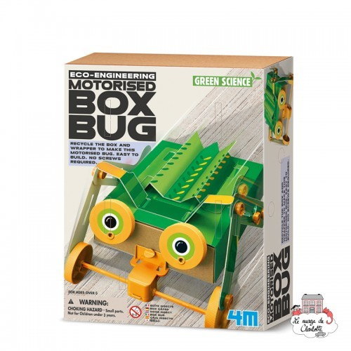Eco-Engineering - Motorised Box Bug - 4M-5603388 - 4M - Discovery boxes - Le Nuage de Charlotte