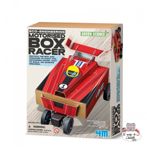 Eco-Engineering - Motorised Box Racer - 4M-5603390 - 4M - Discovery boxes - Le Nuage de Charlotte
