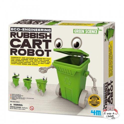 Eco-Engineering - Rubbish Cart Robot - 4M-5603371 - 4M - Discovery boxes - Le Nuage de Charlotte