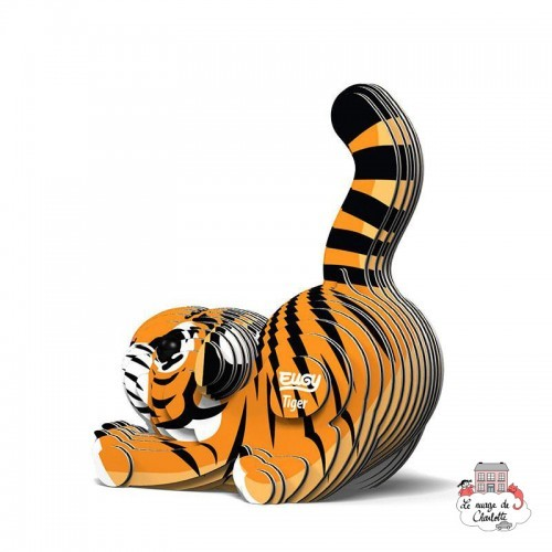 Eugy 012 - Tiger - EUG-5313910 - dodoland - Maquettes en carton - Le Nuage de Charlotte