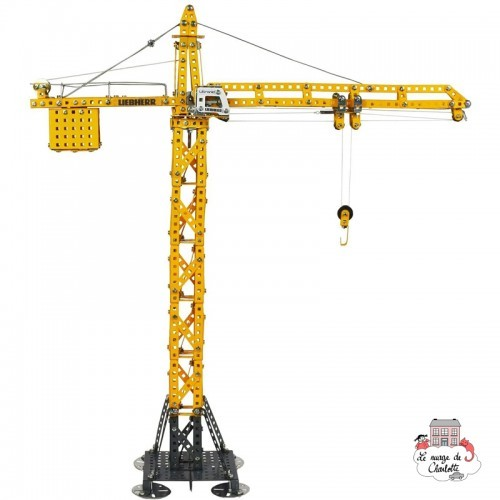 Tower Crane LIEBHERR - TRO-10099 - Tronico - Metal Construction - Le Nuage de Charlotte
