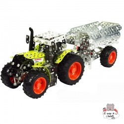 Tractor CLAAS Arion 430 with trailer - TRO-10011 - Tronico - Metal Construction - Le Nuage de Charlotte