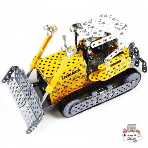 Bulldozer LIEBHERR - TRO-10039 - Tronico - Metal Construction - Le Nuage de Charlotte
