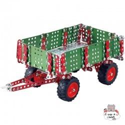 Trailer for tractor - TRO-10049 - Tronico - Metal Construction - Le Nuage de Charlotte