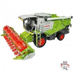 Harvester CLAAS Lexion 770 with trailer - TRO-10059 - Tronico - Metal Construction - Le Nuage de Charlotte