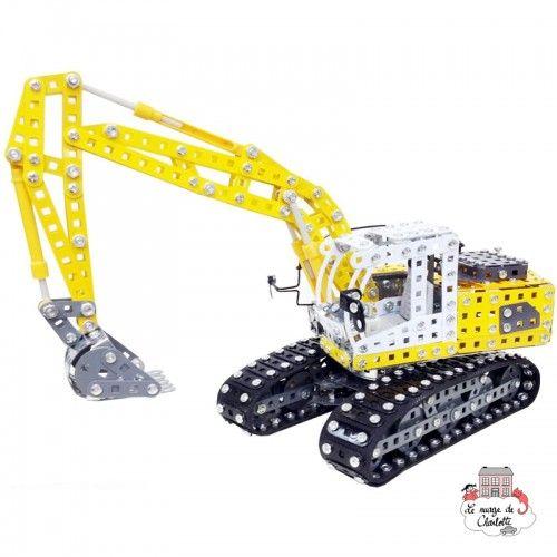 LIEBHERR Crawler excavator - TRO-10100 - Tronico - Metal Construction - Le Nuage de Charlotte