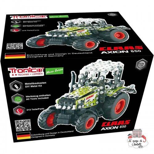 Tractor CLAAS Axion 850 - TRO-9590CS - Tronico - Metal Construction - Le Nuage de Charlotte
