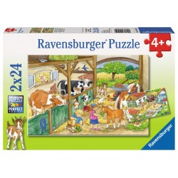 A Day at the Farm - RAV-091959 - Ravensburger - For littles - Le Nuage de Charlotte