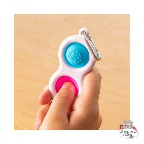 Simpl Dimpl - FTB-5022111 - Fat Brain Toy Co. - Keyring - Le Nuage de Charlotte