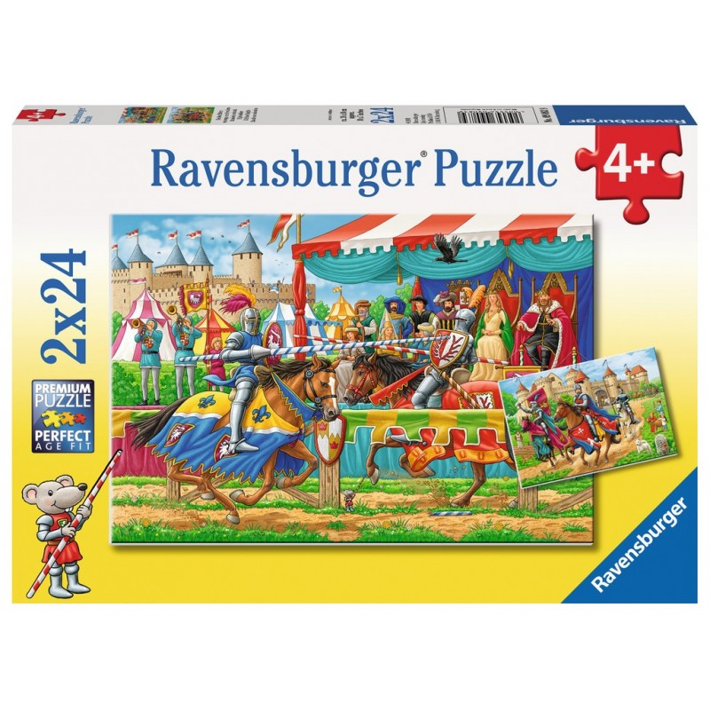 With the Knights - RAV-090839 - Ravensburger - For littles - Le Nuage de Charlotte
