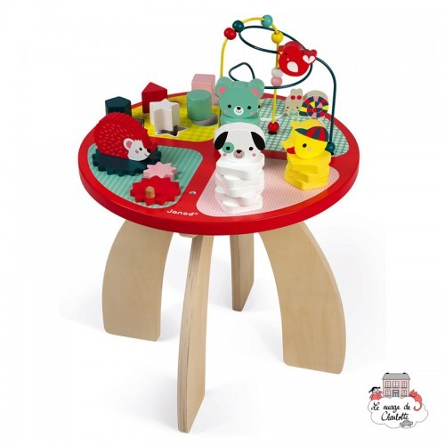 Baby Forest Activity Table - JAN-J08018 - Janod - Activity Toys - Le Nuage de Charlotte