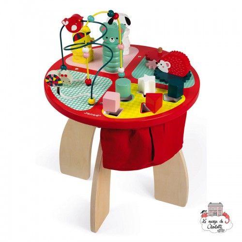 Baby Forest Activity Table - JAN-J08018 - Janod - Activity Toys - Le Nuage de Charlotte