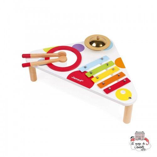 Musical Table Confetti - JAN-J07634 - Janod - Musical Instruments - Le Nuage de Charlotte