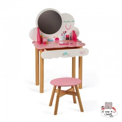 P'Tite Miss Dressing Table - JAN-J06553 - Janod - For doing like the grown-ups - Le Nuage de Charlotte