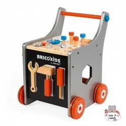 Brico'Kids Magnetic DIY Trolley - JAN-J06478 - Janod - DIY and Gardening - Le Nuage de Charlotte