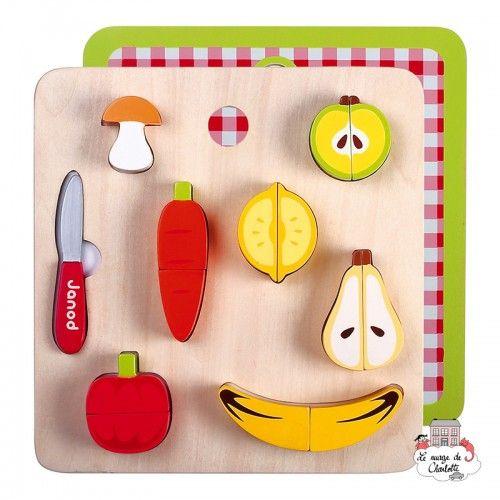 Fruit and Veg' Set - JAN-J06529 - Janod - Kitchen, Household and Dinnerware Set - Le Nuage de Charlotte