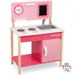 My First Mademoiselle Cooker - JAN-J06566 - Janod - Kitchen, Household and Dinnerware Set - Le Nuage de Charlotte