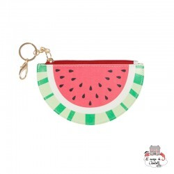 Keyring / Coin Purse Tropical Watermelon - S&B-FRAN058 - Sass & Belle - Wallet - Le Nuage de Charlotte
