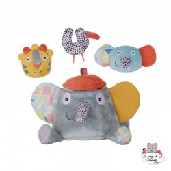 Ziggy the activity elephant - EBU-E80004 - ebulobo - Activity Toys - Le Nuage de Charlotte