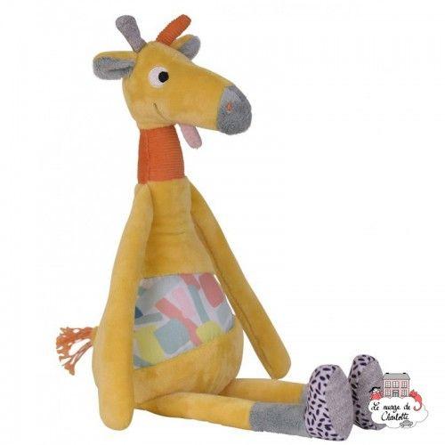 Giraffe comforter - EBU-E80009 - ebulobo - Baby Comforter - Le Nuage de Charlotte