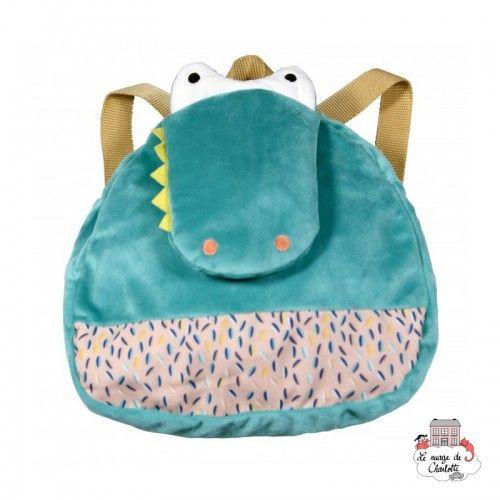 Crocodile backpack - EBU-E80013 - ebulobo - Backpacks - Le Nuage de Charlotte