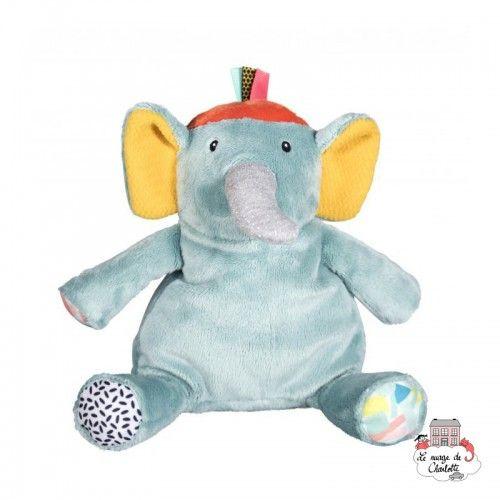 Ziggy Elephant comforter - EBU-E80015 - ebulobo - Baby Comforter - Le Nuage de Charlotte