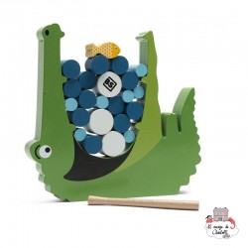 Crocodile - BST-GA348 - BS Toys - pour les plus petits - Le Nuage de Charlotte